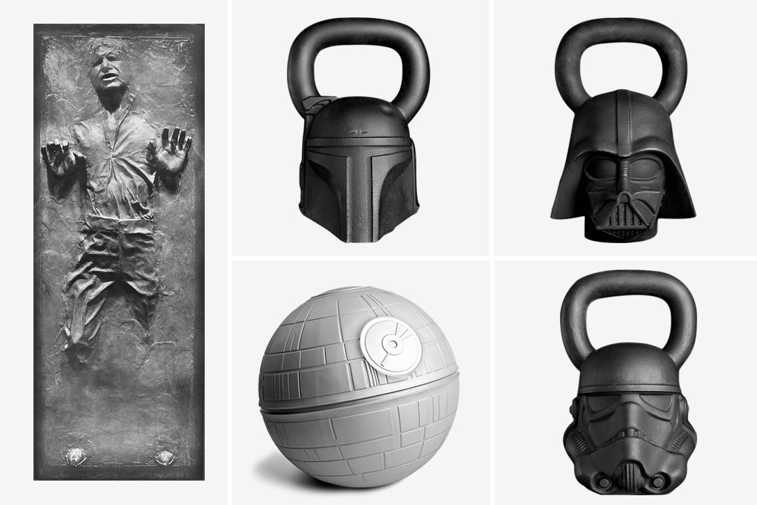 Wat Is Foam Stay Fit! Crossfitten Met Star Wars-sportattributen - Want