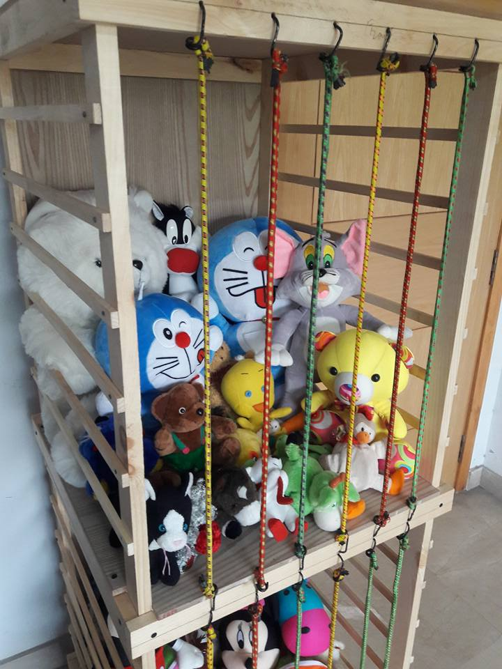 Jail for Stuffed Toys