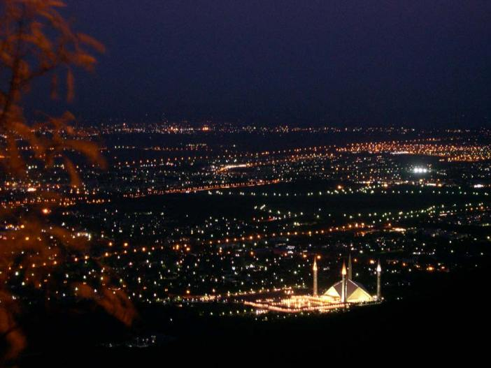 Islamabad-Night-View-Margalla