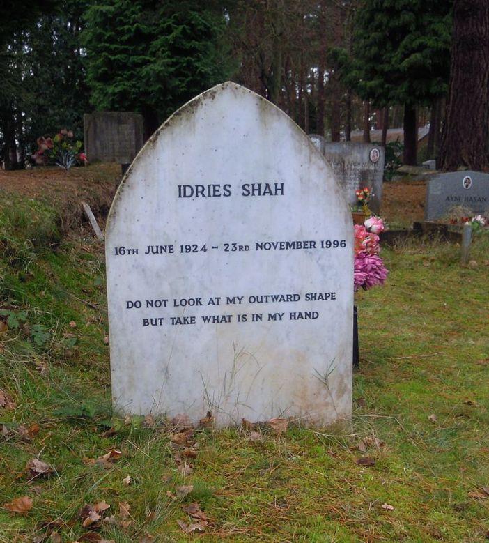 Idries_Shah_Grave_Brookwood