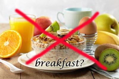 breakfast skip