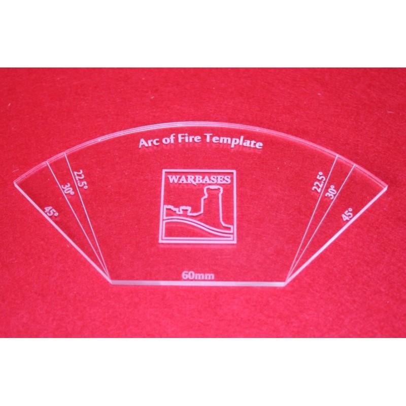 Arc of Fire Templates (Acrylic)