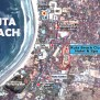 kuta-beach-map Best Place To Stay In Bali