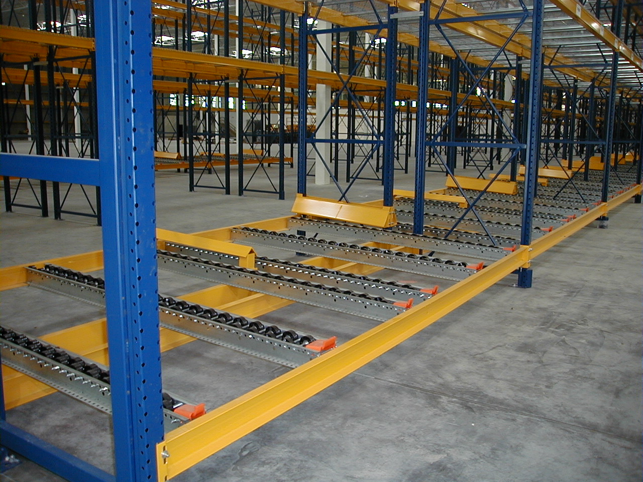 Warehouse Designer Pallet Flow Racks Warehouse Design