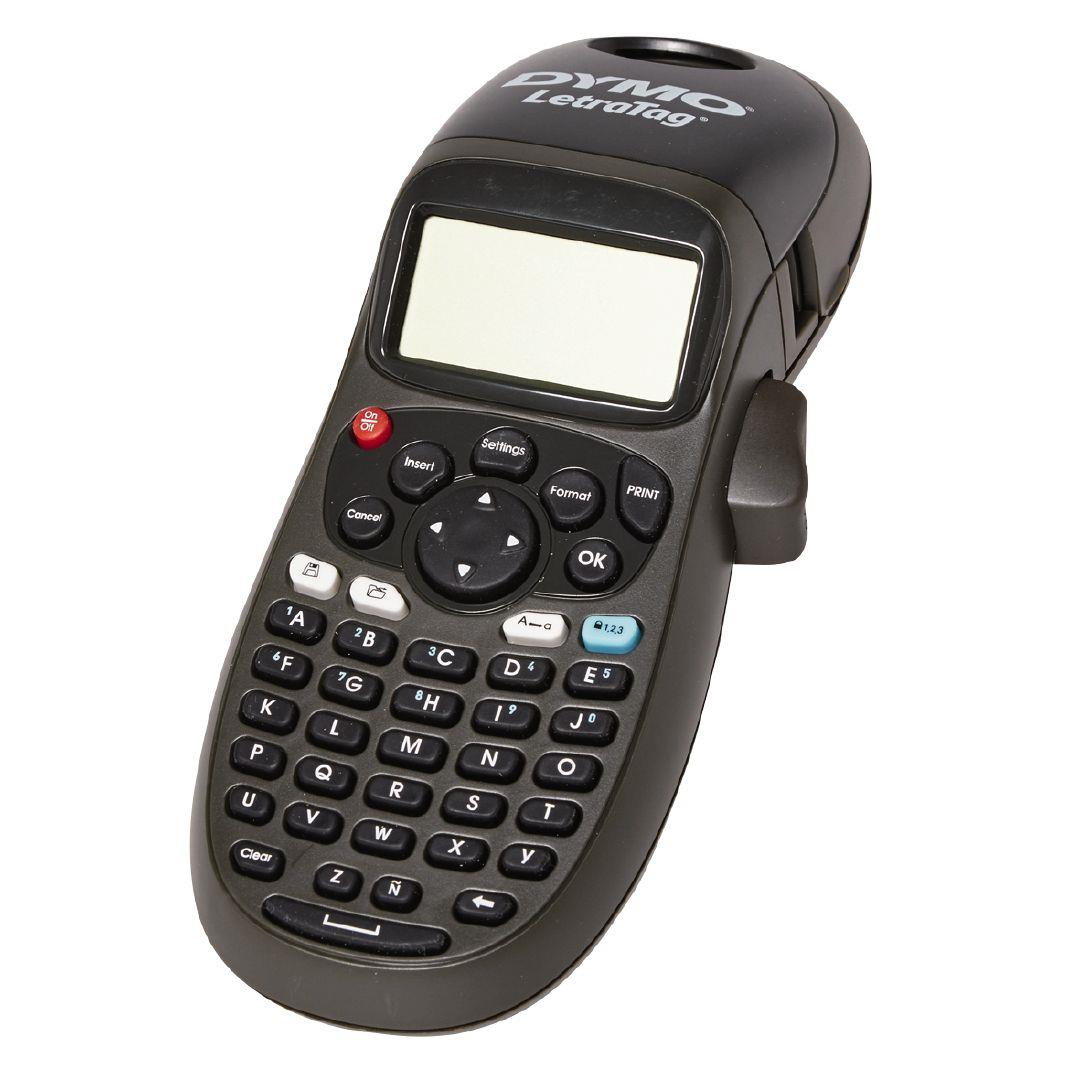 Dymo Letratag Dymo Letratag Hand Held Label Maker Lt100 Black