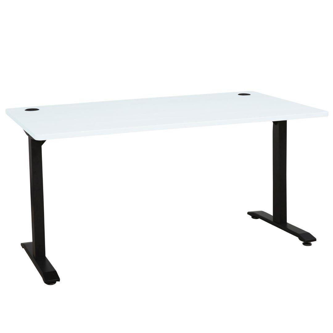 Metal Leg Desk Jasper J Emerge Metal Leg Desk 1500 White Ironstone