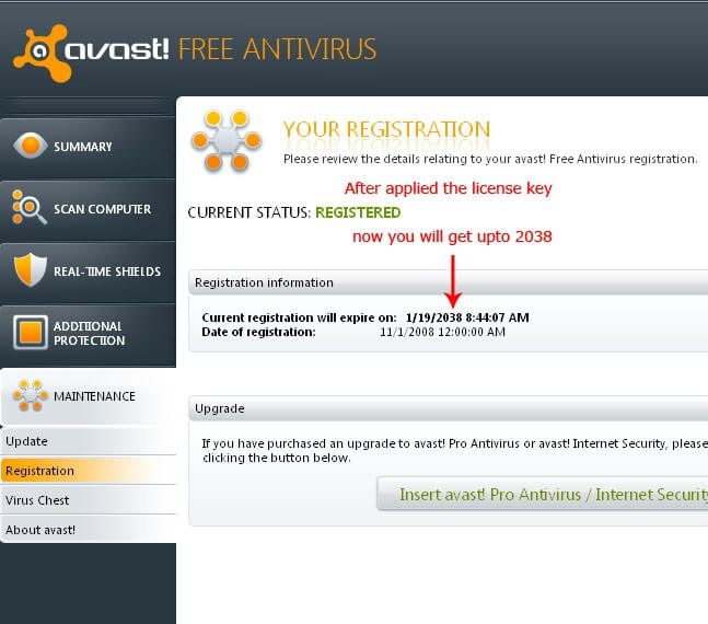 how to crack avast antivirus software