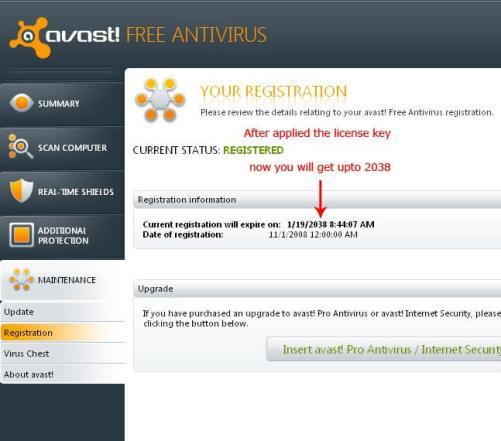 avast new version activation code