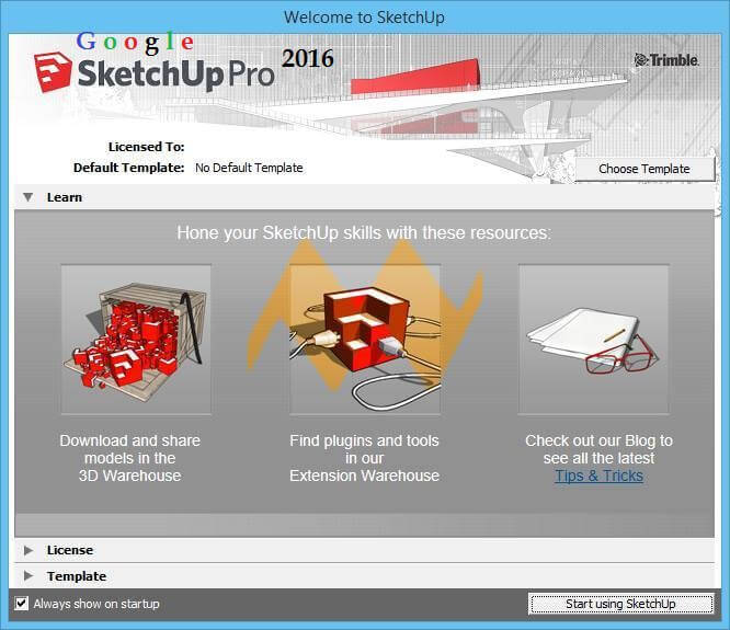 SketchUp Pro 2016 Crack incl License Key Download Free