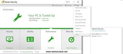 Norton Antivirus 2016 Crack License Key Mac + Windows Free