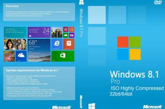 Windows 8.1 Pro ISO Highly Compressed Free Download