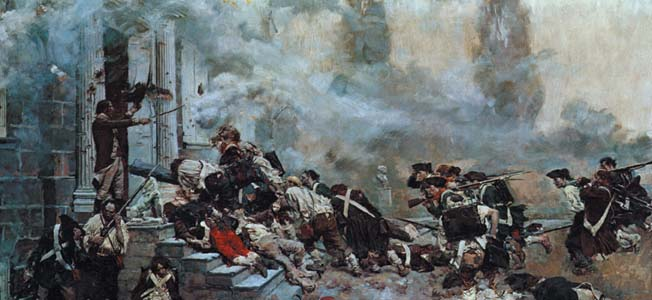 Warfare History Network » George Washington and Lord Cornwallis at