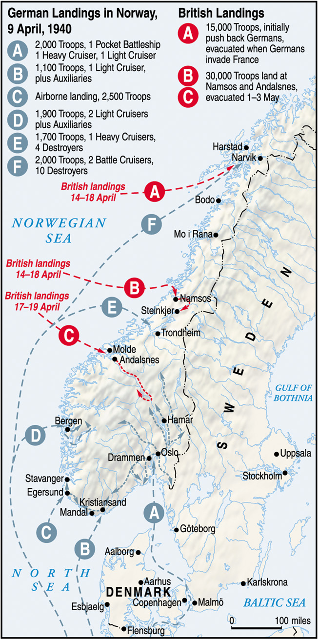 Battle Of Bjerkvik The Battles Of Narvik The Norwegian Campaign