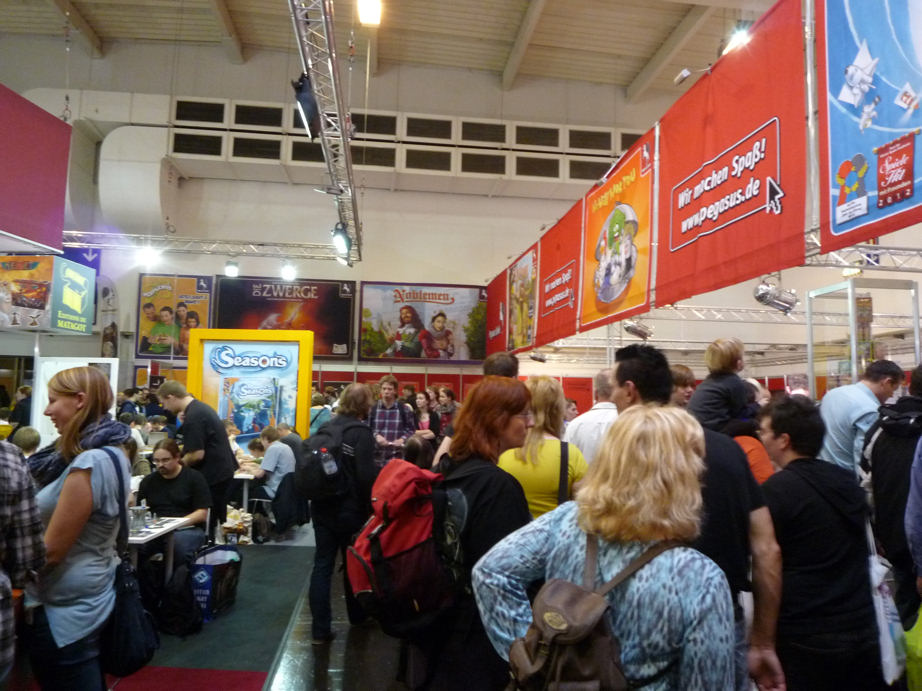 HFC on Tour: Spiel 2012 in Essen, the world's biggest consumer fair for gaming (4/6)