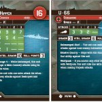 Germany's Admiral Hipper and U-66 Stat Cards