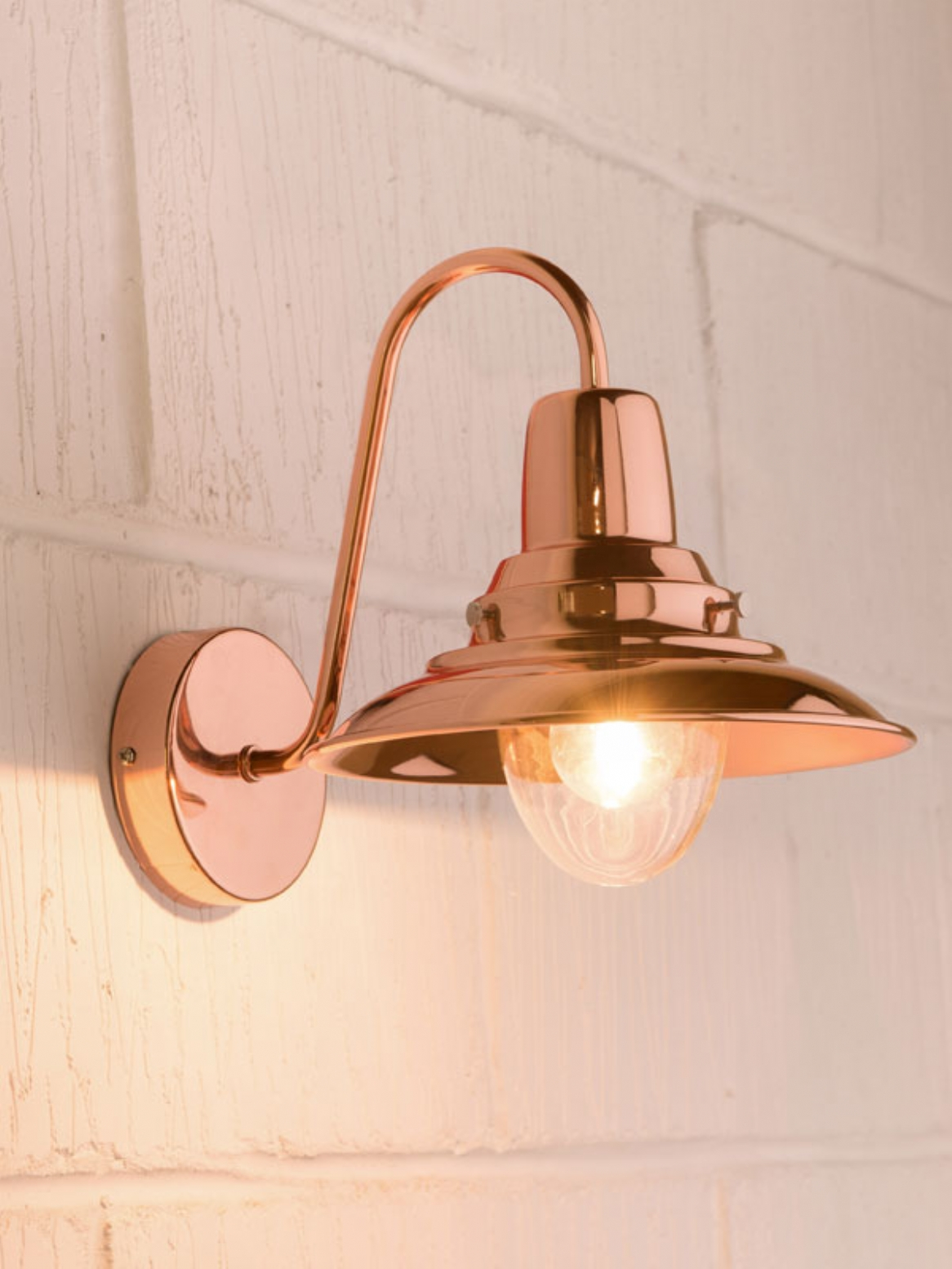 Wall Light Copper Wall Lights 10 Methods To Give Your Home A