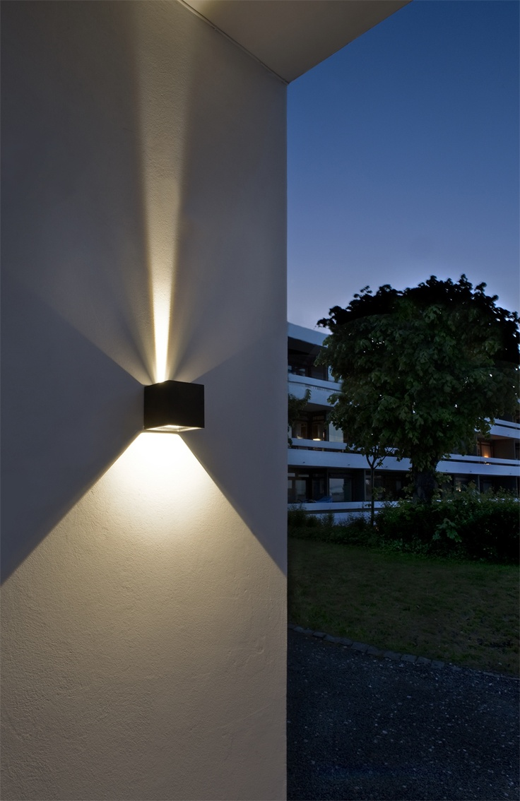 Eclairage Exterieur Up Down Led Outdoor Wall Lights - Enhance The Architectural
