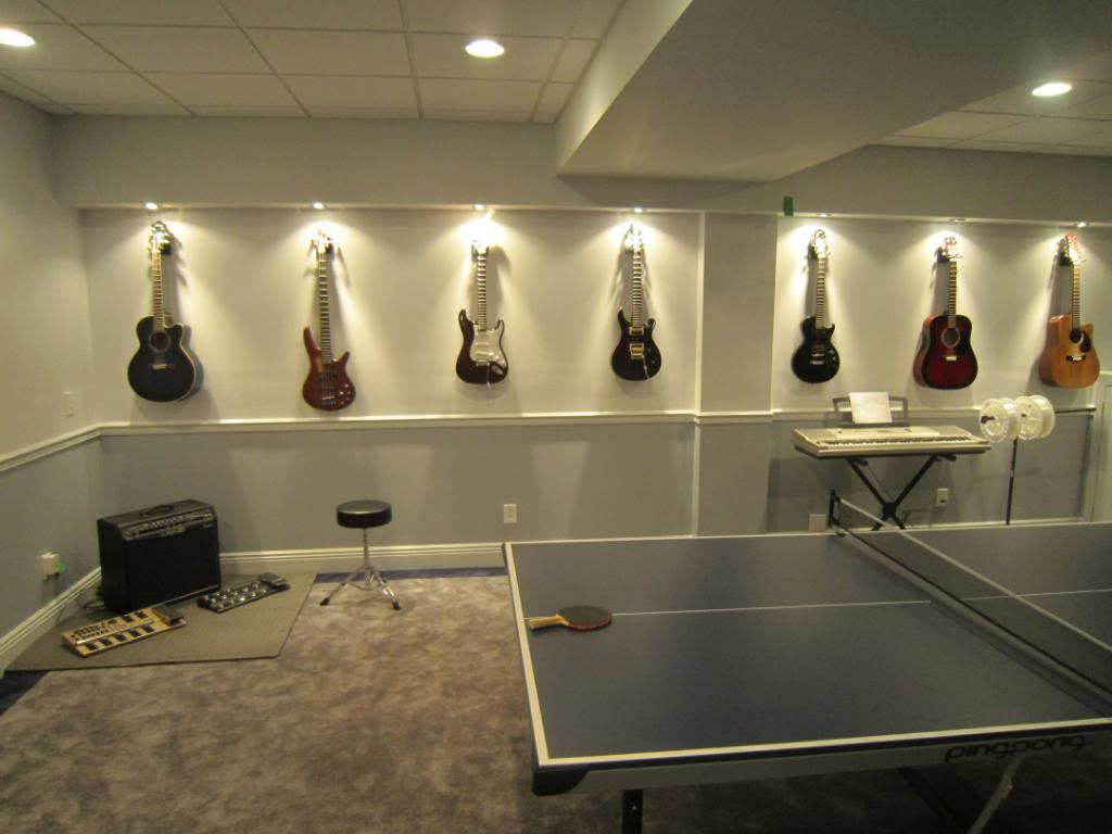 Studio Lighting Ideas Lighted Guitar Wall Mount 12 Musical Inspirations To