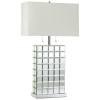 Mirror table lamp - add a touch of elegance and glamour to ...
