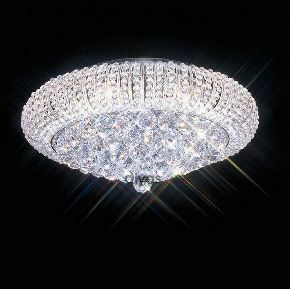 Modern crystal ceiling lights