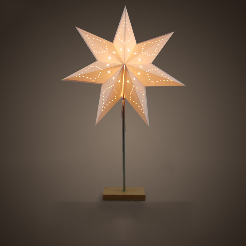 Stern Lampe Paper Star Lamp - 16 Ways To Give Unusual Feelings To Your
