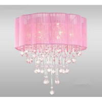 Pink chandelier lamp - 15 unbreakable refined arts in your ...