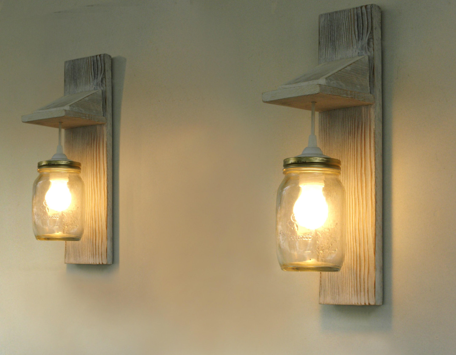 Appliques Murales Diy Wooden Wall Lights Fit Perfectly To The Interiors Of