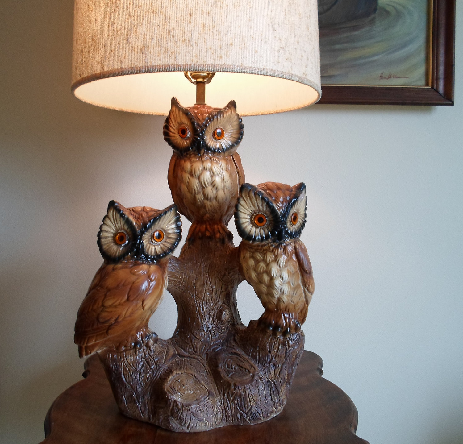 Make your bedroom look romantic with antique owl lamp make your bedroom look romantic with
