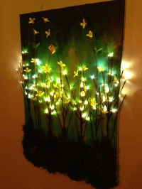 Canvas light up wall art - 10 ideal wall decorations ...