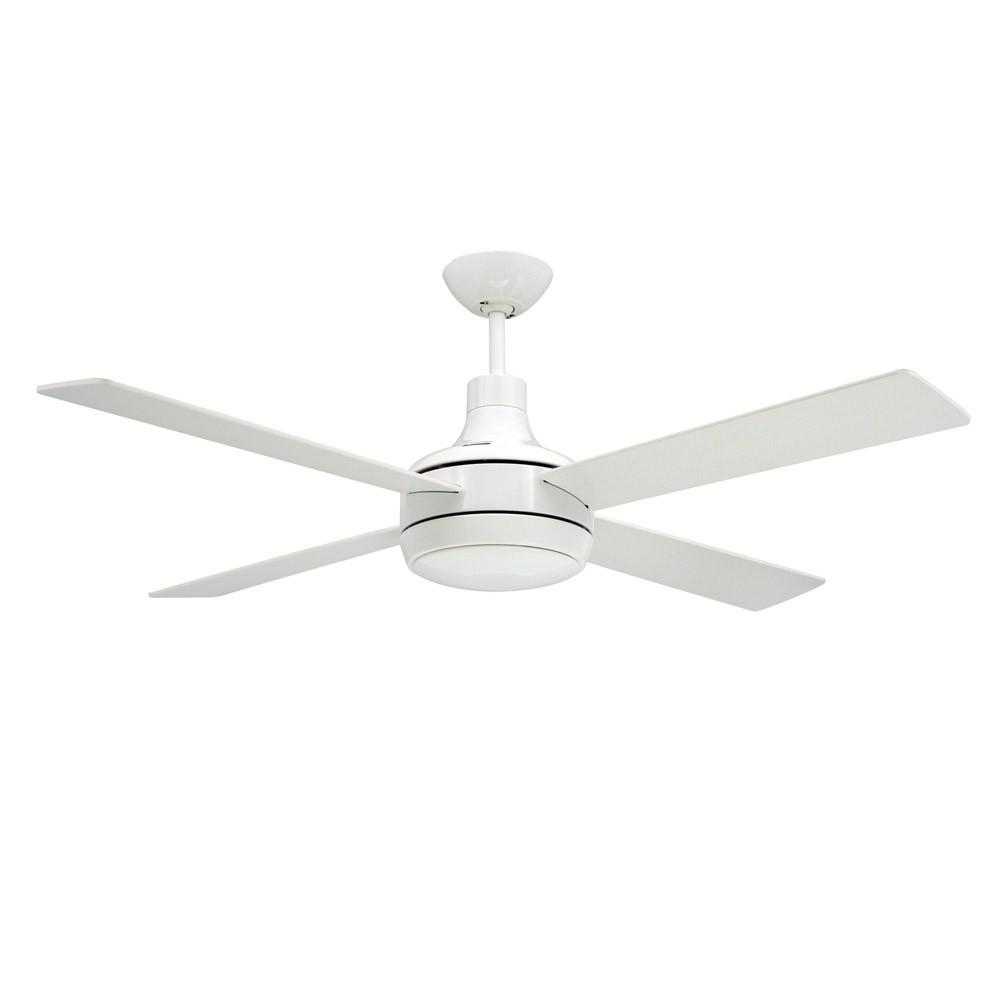 Ceiling fan light kit white