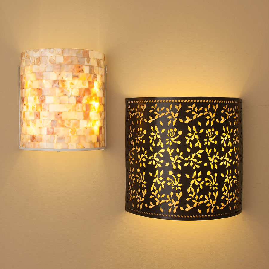 Battery Powered Sconces Sparkle Your Home Interiors With Cordless Wall Lights