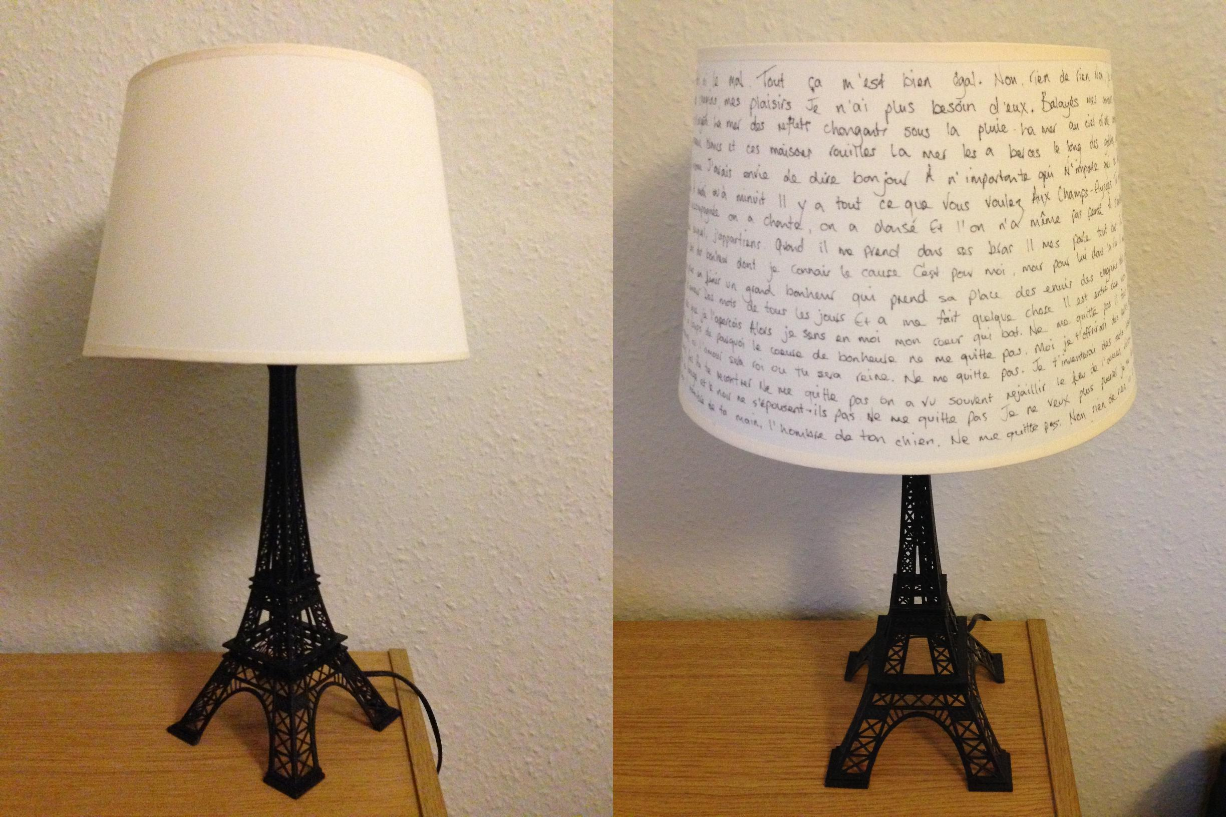 Decorar Pantallas Para Lamparas Eiffel Tower Lamps: Relive Your Paris Dream With These