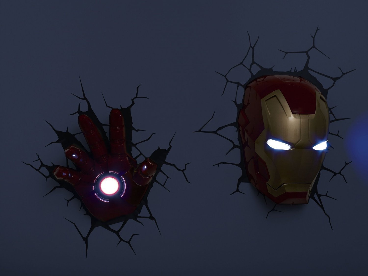 3d Wall Art Night Light 10 Benefits Of Iron Man 3d Wall Light Warisan Lighting