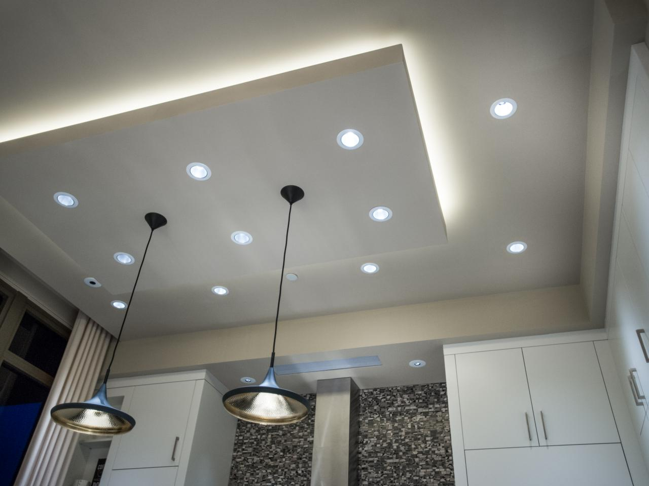 Ceiling Lighting Use Of Led Drop Ceiling Lights For Quality Lighting