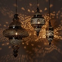 Get moroccan lamps to bring the Oriental magic to your ...