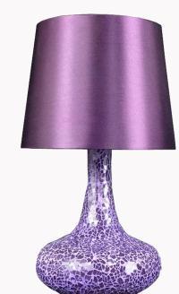 Purple glass lamps - 25 tips for choosing | Warisan Lighting