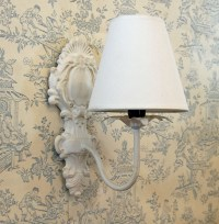 Shabby chic wall lights - 10 Ways To Use Sconce Lighting ...