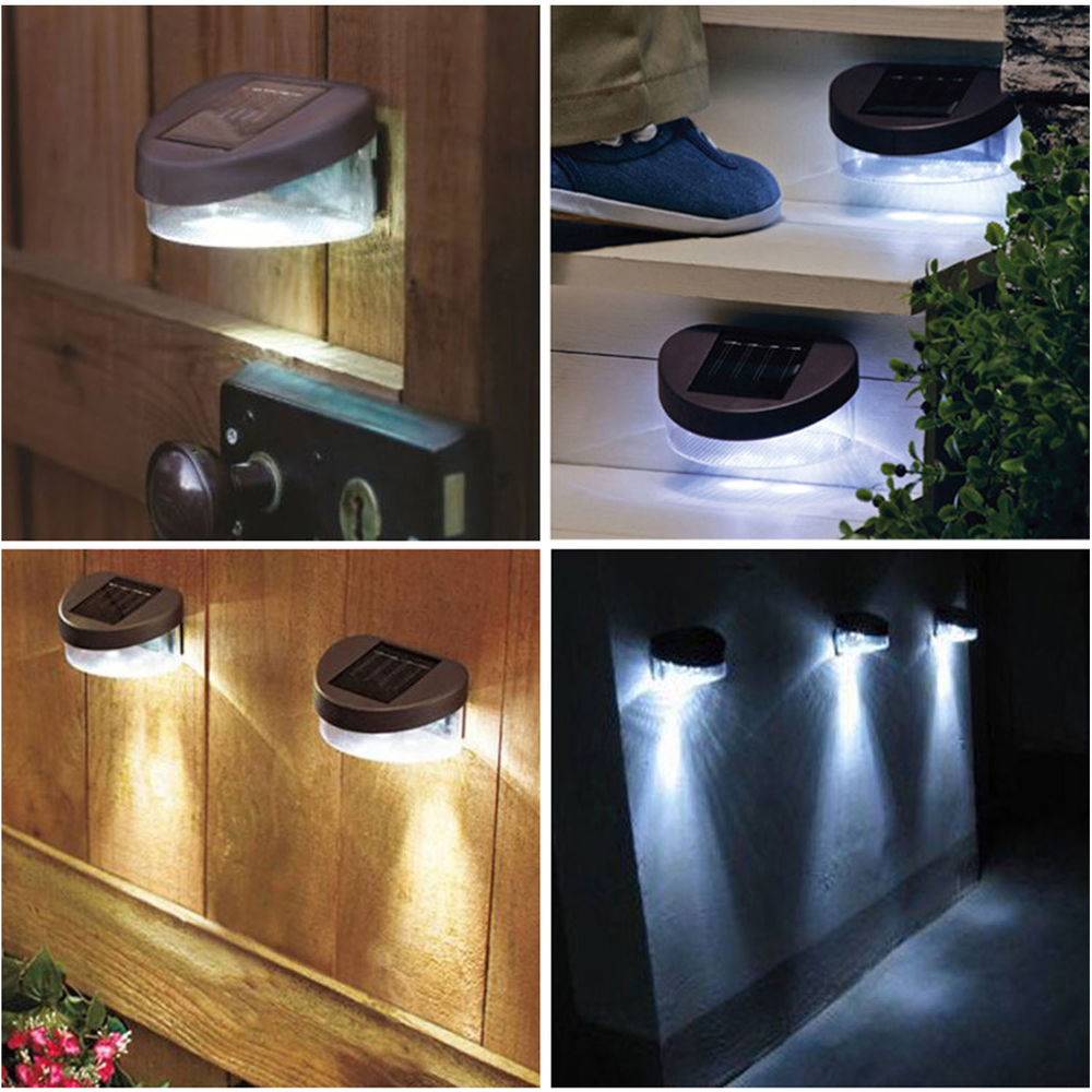 Battery Powered Vanity Light Solar Powered Garden Wall Lights - Perfect Solutions One