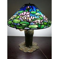 Small Crop Of Stained Glass Lamps