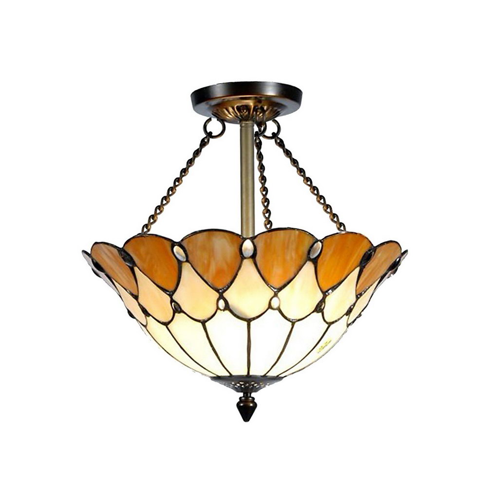 TOP 10 Tiffany style ceiling fan light shades for 2018