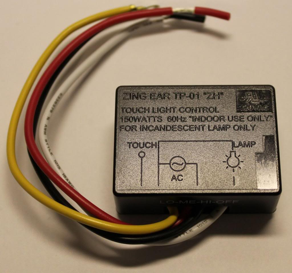 Touch Light Sensor Wiring Diagram Library Switch Circuit
