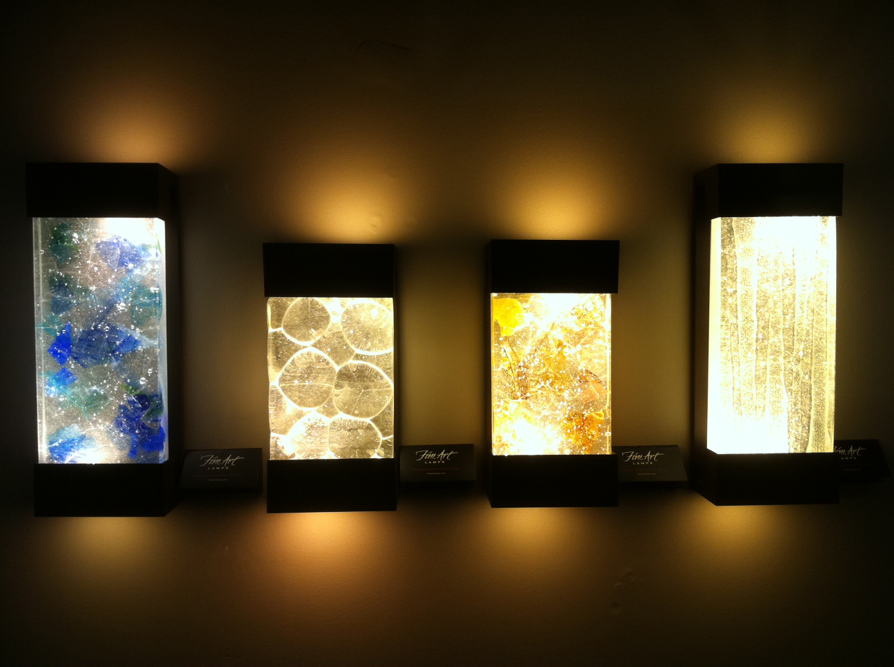 Artistic Light Fixtures Wall Art With Led Lights The Art Of The Future Warisan