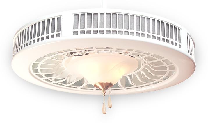 Smoke eater ceiling fans