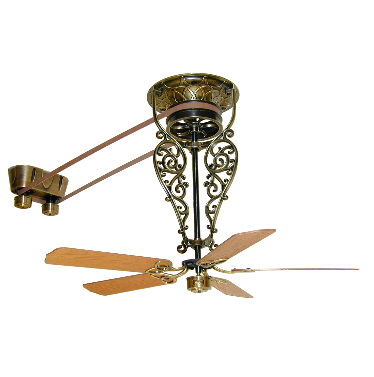 Vintage Looking Fans Antique Ceiling Fans Bring The Industrial Flavor To The