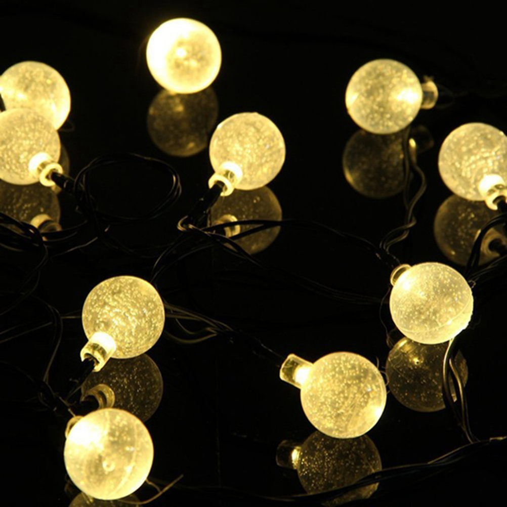 Kugel Lichterkette Christmas Globe Lights Outdoor - Significant Decorative