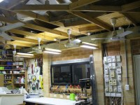 Garage ceiling fans