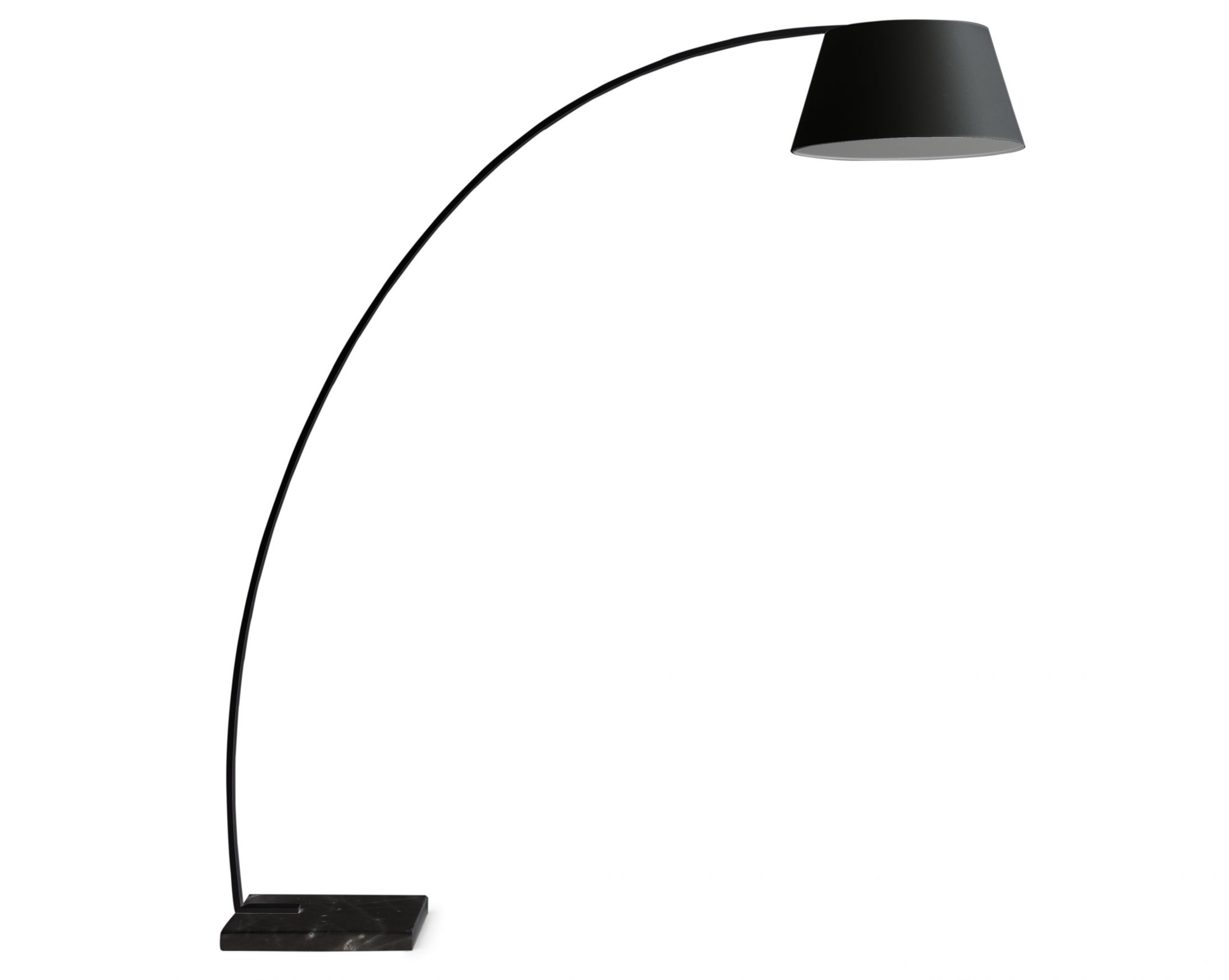 Arc Floor Lamp Black Shade Black Arc Floor Lamp Reasons To Buy Warisan Lighting