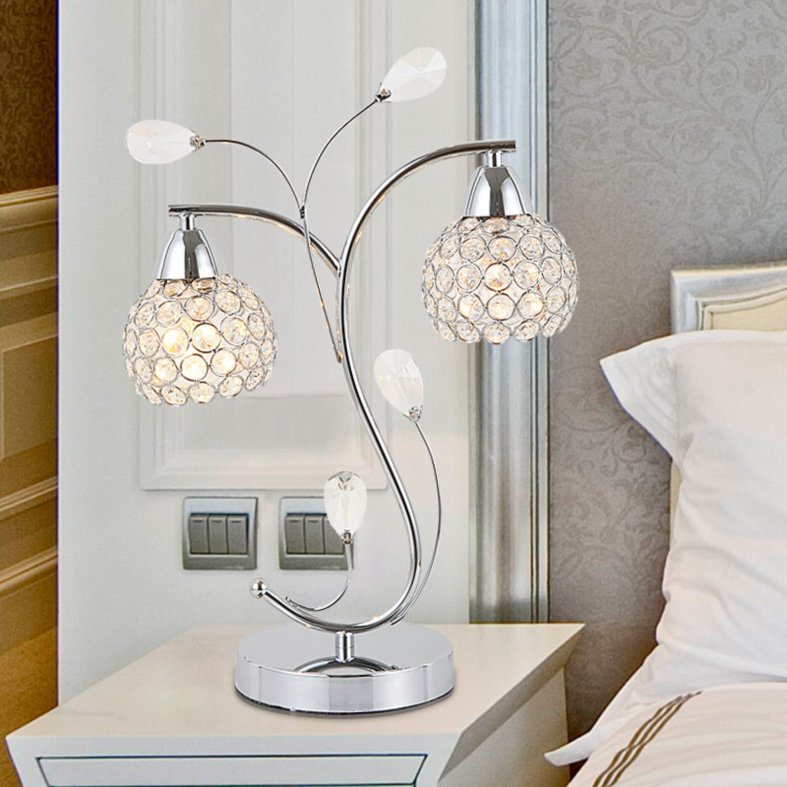 Bedroom Side Table Lights 10 Great Spots To Place Side Table Lamps Warisan Lighting