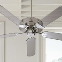 Acrylic ceiling fan - great approach to include loads of ...