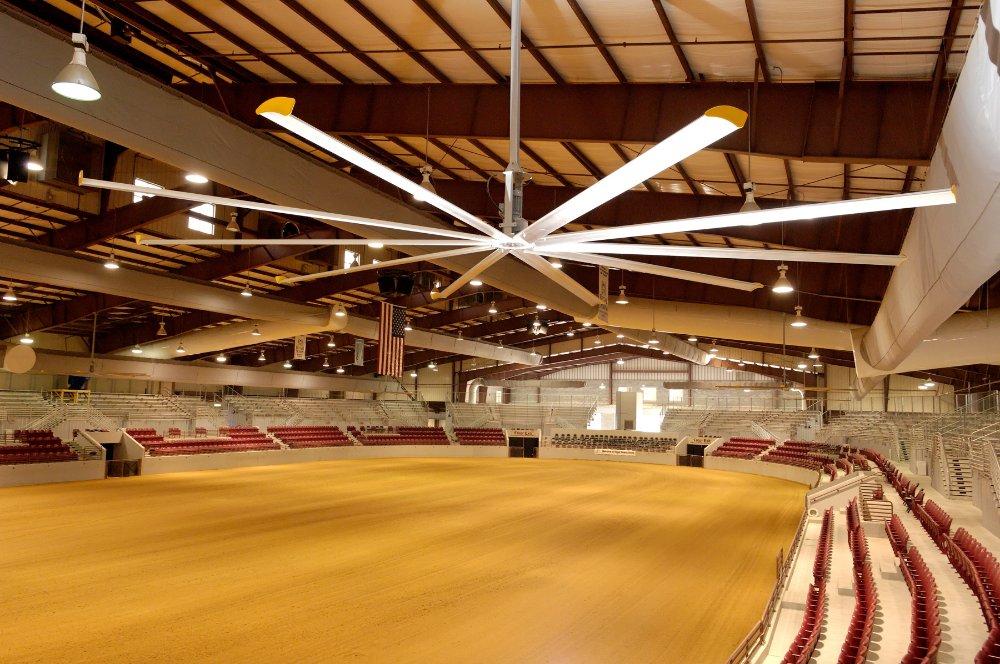 Big ceiling fans